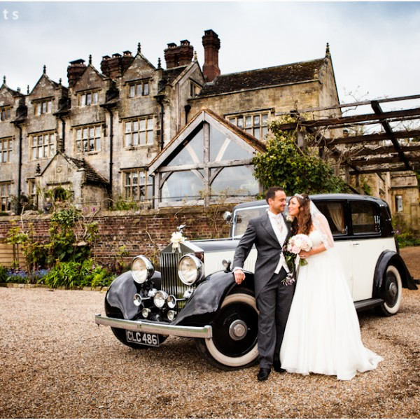 Wedding Photographer at Gravetye Manor, Sussex