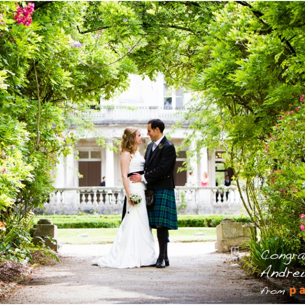 Wedding Photographer at Grove House, Roehampton University