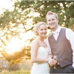 Portrait of Bride and Groom at Ockenden Manor
