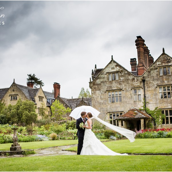 Claire & Colin - Wedding Photography Gravetye Manor
