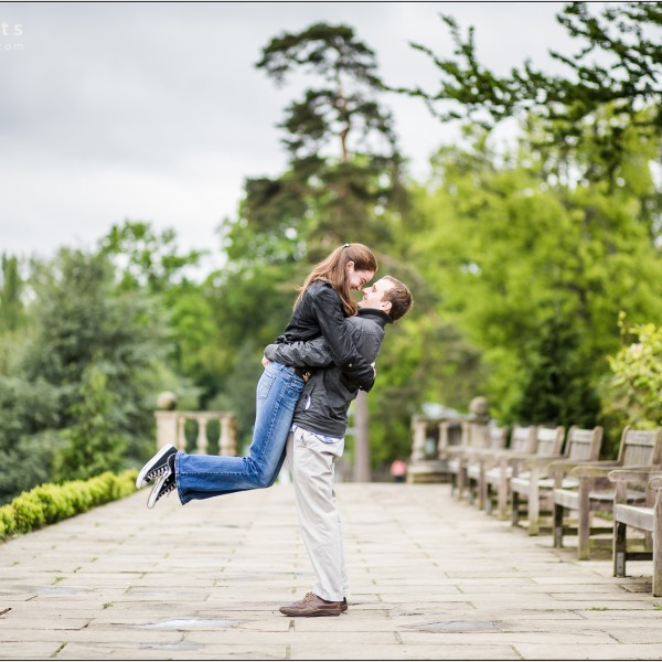 Mark & Michaela's Engagement Portrait - Tunbridge Wells