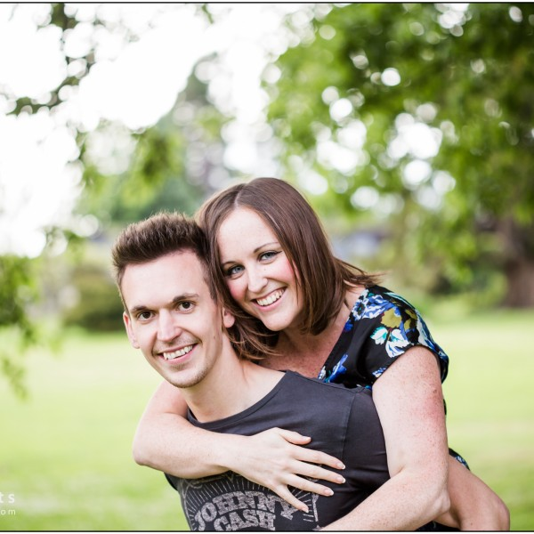 Sophie & Steve - Engagement Portrait Tunbridge Wells