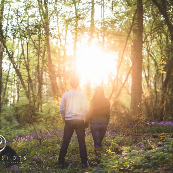 Kirsty & Andy / Engagement Portrait Session / Kent