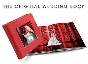 link to original wedding book album options