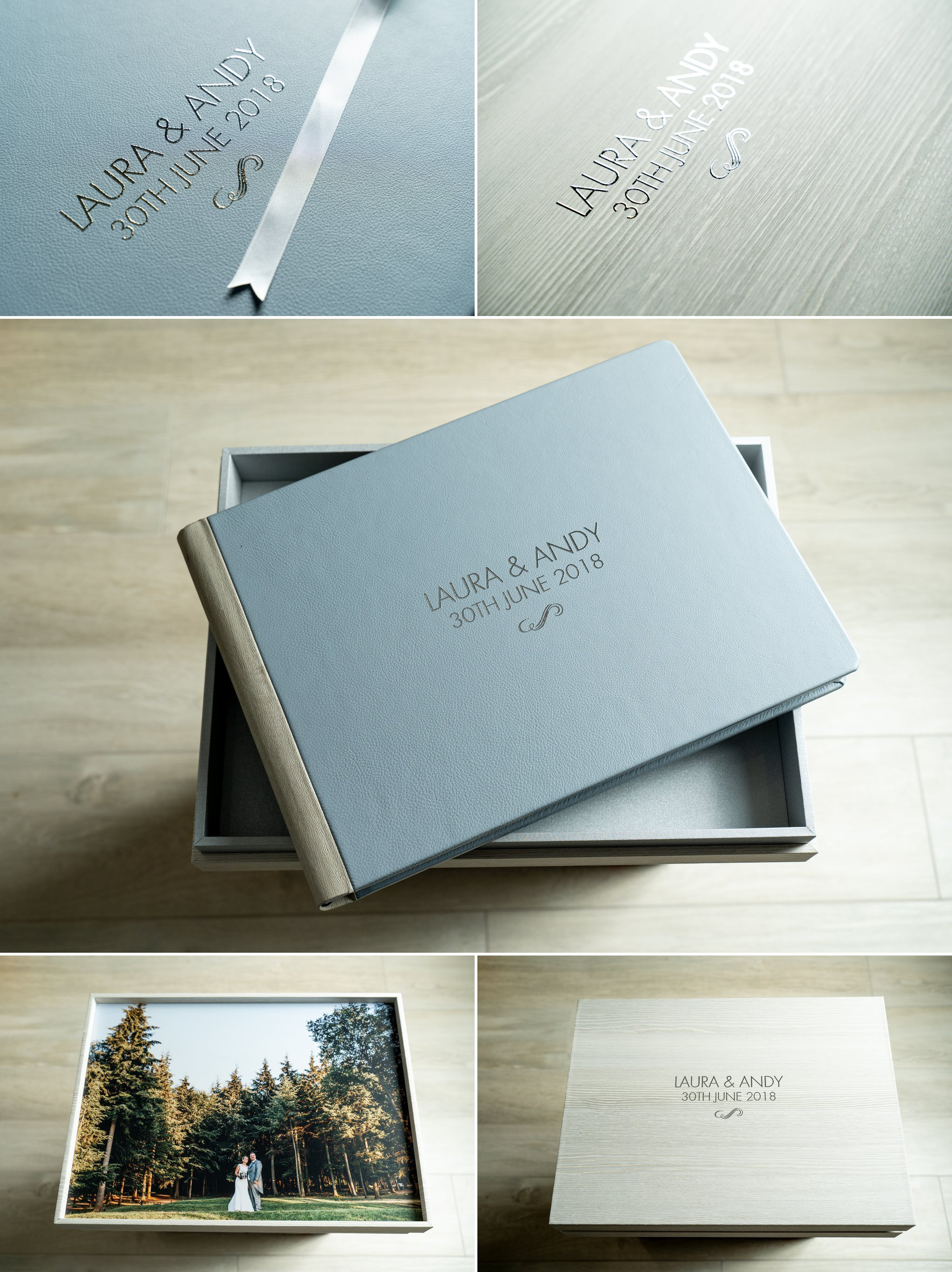 example wedding album