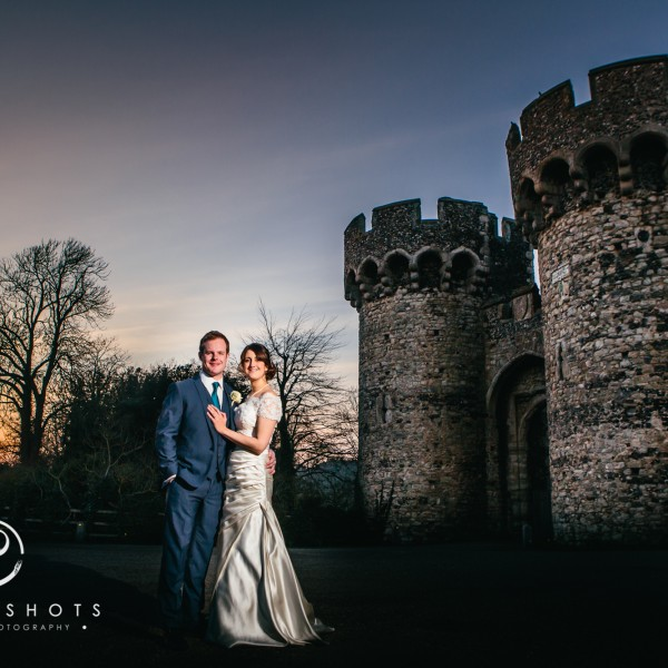 Toya & Craig's Wedding Photography at Cooling Castle Barn