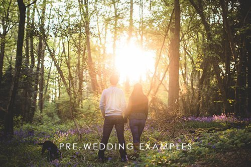 PRE WED EXAMPLES