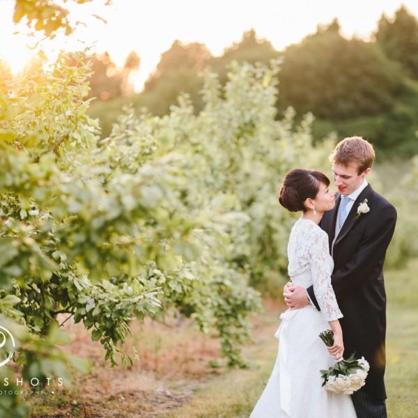 Saori & Ed's Wedding Photography in Tunbridge Wells