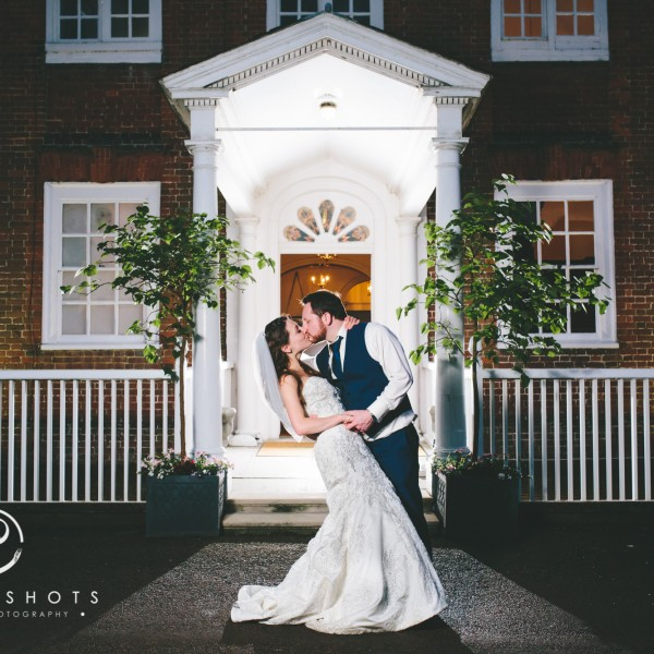 Amy & Aaron's Wedding Photography at Bradbourne House