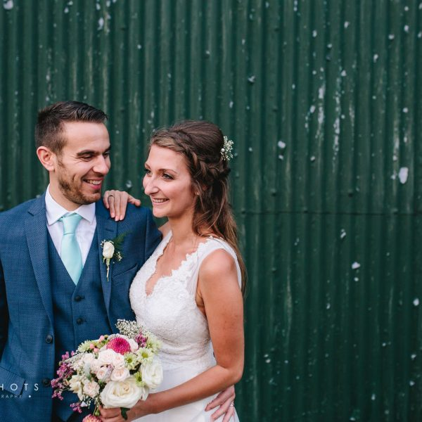 Harriet & Giles' Laid Back Garden Wedding Photography