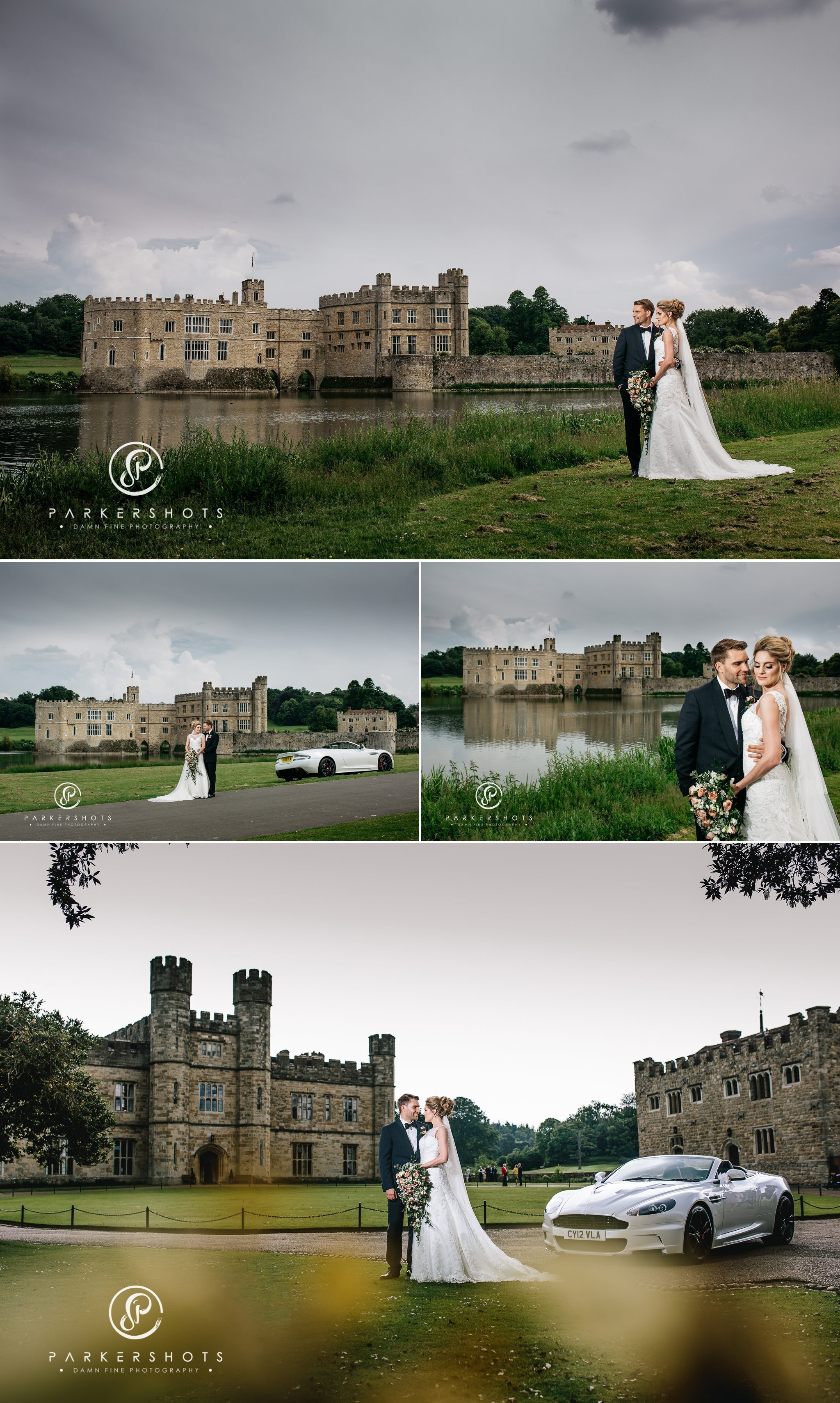 Amazing wedding photography at Leeds Castle