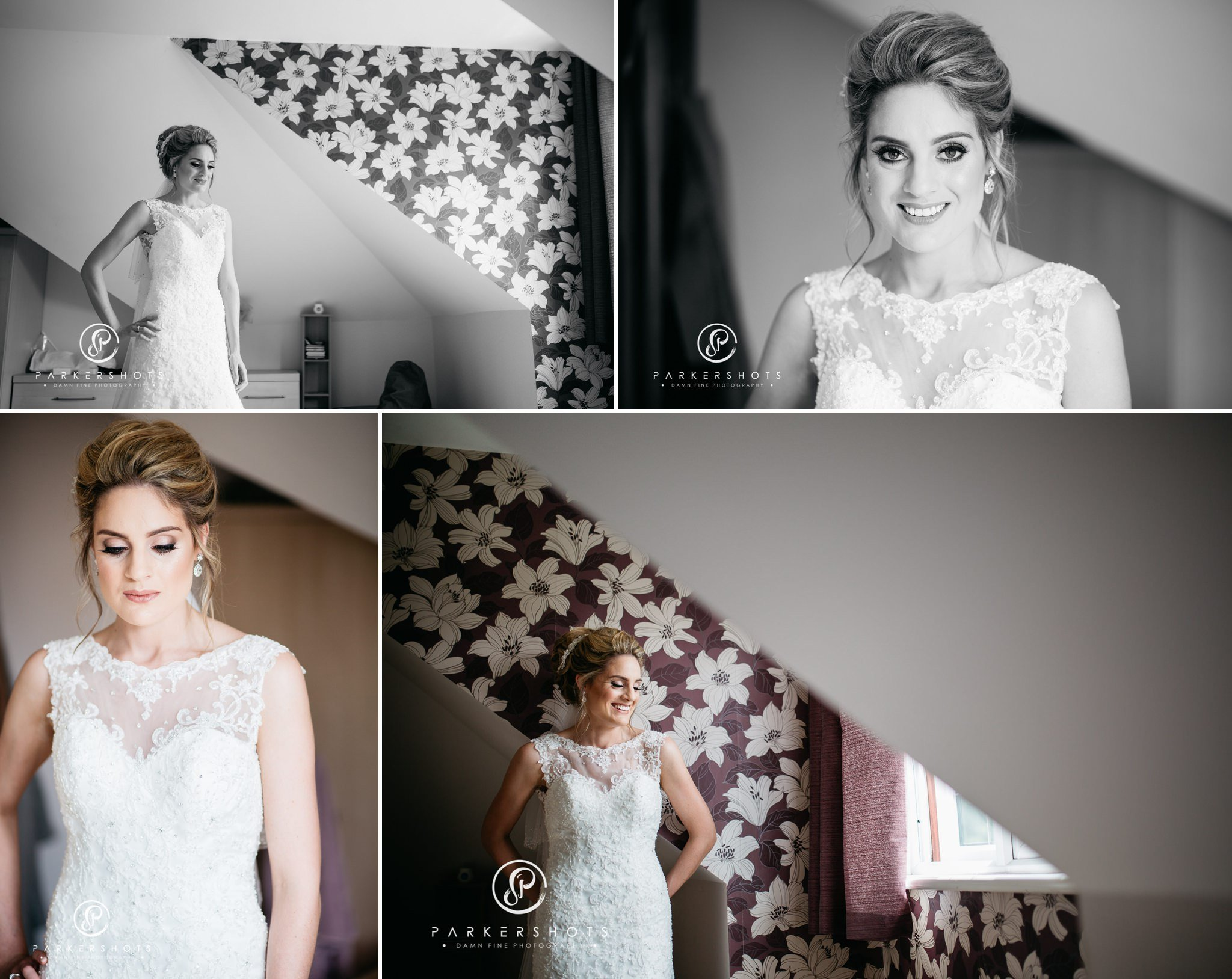 Bridal portraits for Leeds Castle wedding