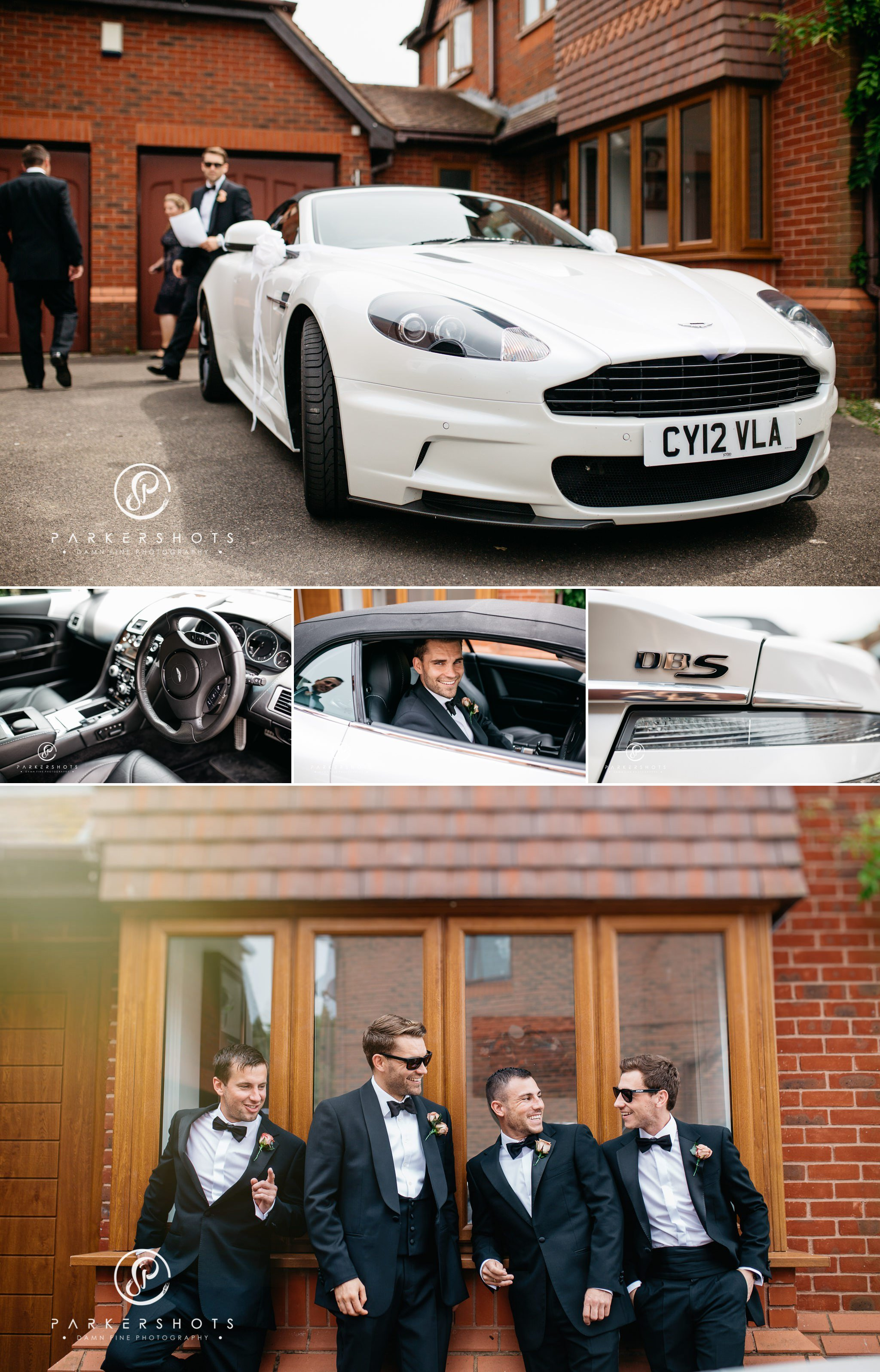 Aston Martin at Leeds Castle Wedding