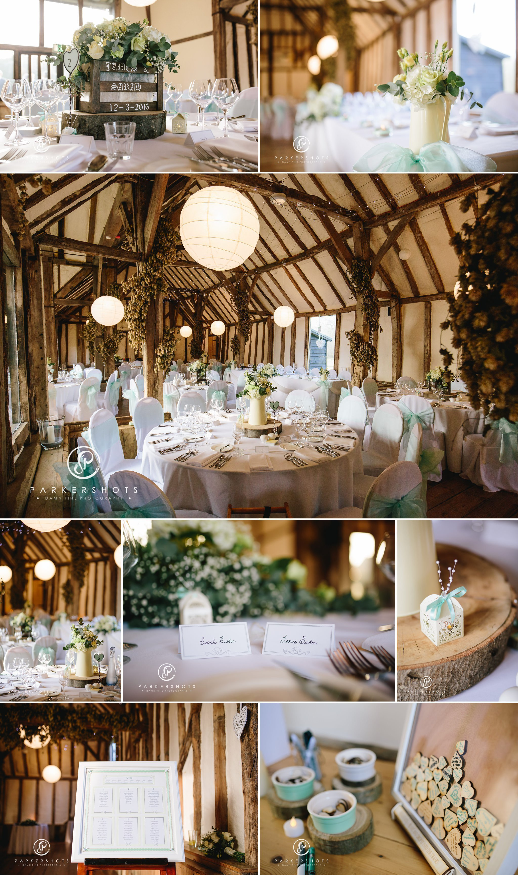 Wedding Breakfast at Winters Barns