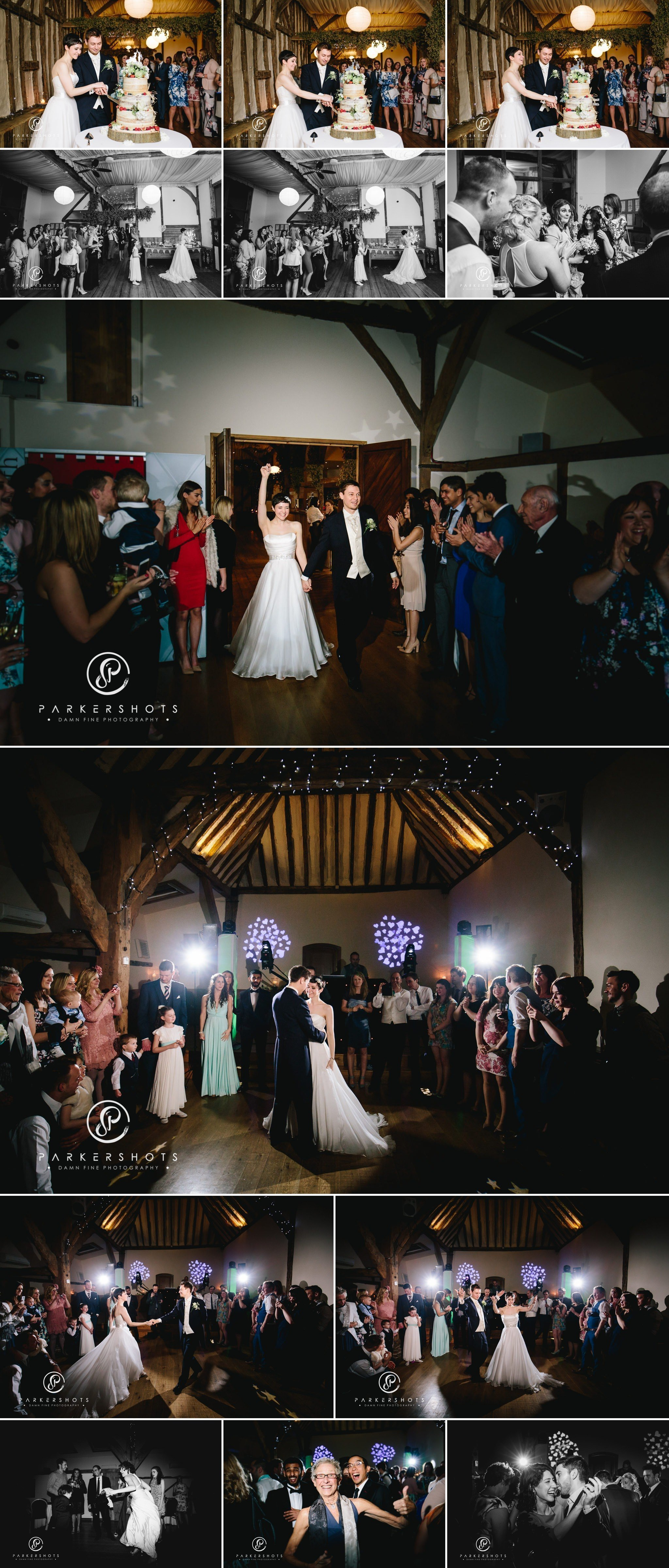 Wedding first dance at Winters Barns