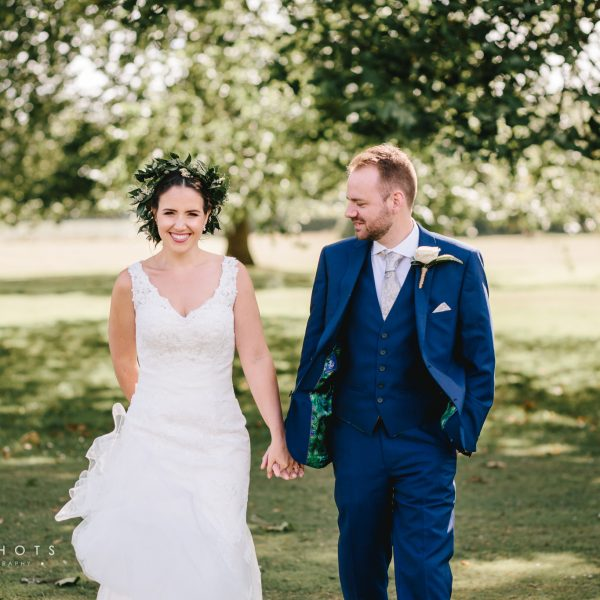 Jo & Kris' Wedding Photography at Bradbourne House