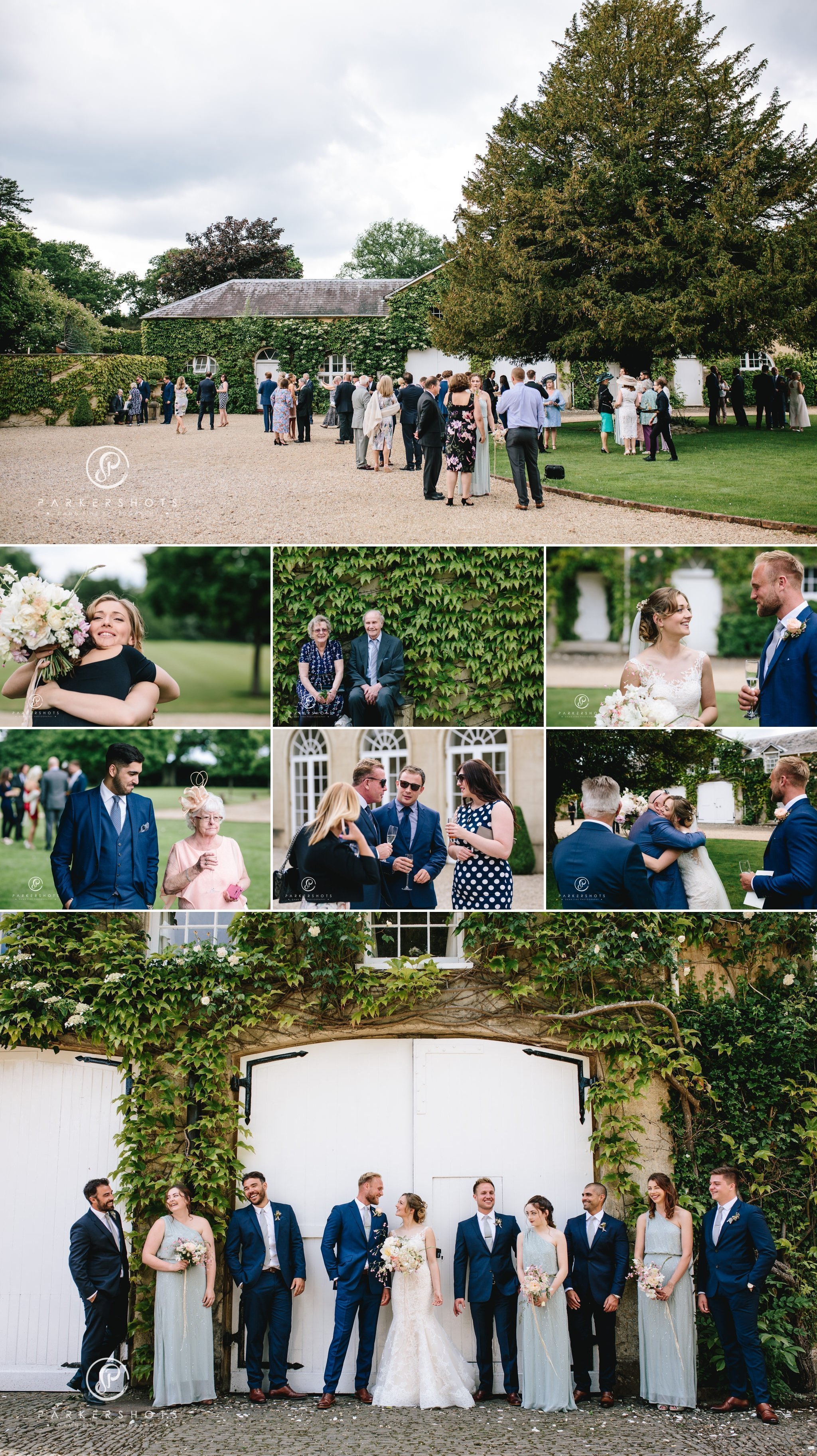 wedding photography of reception at Northbrook Park