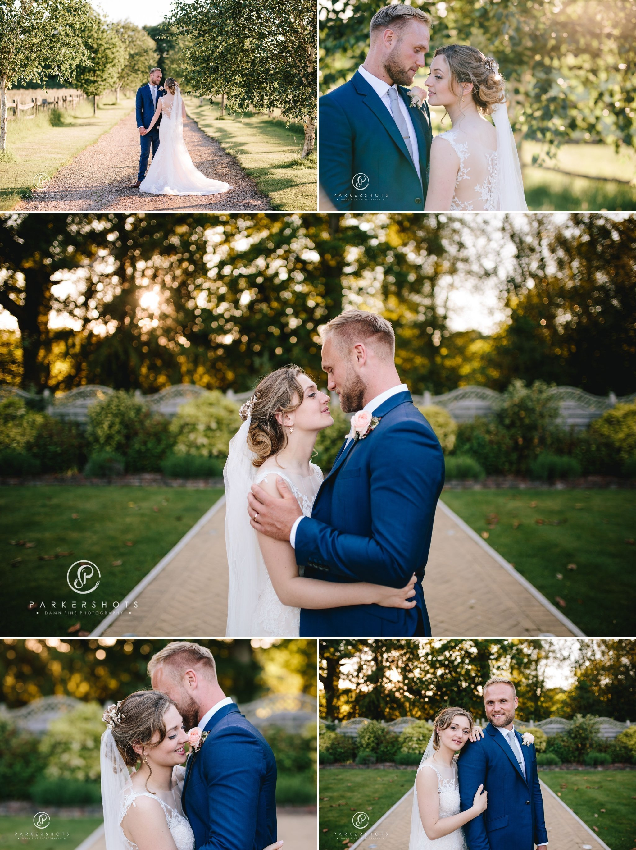 alternative wedding photography at Northbrook Park