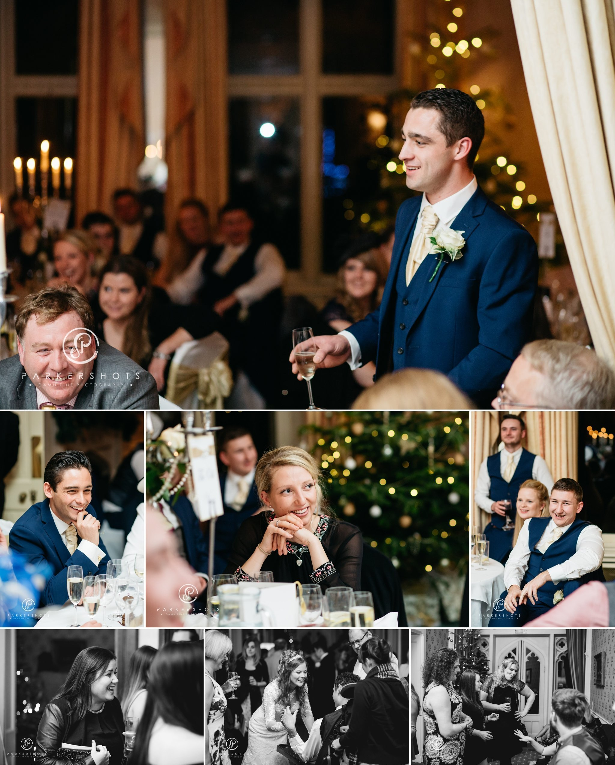 Wedding speeches at Horsted Place