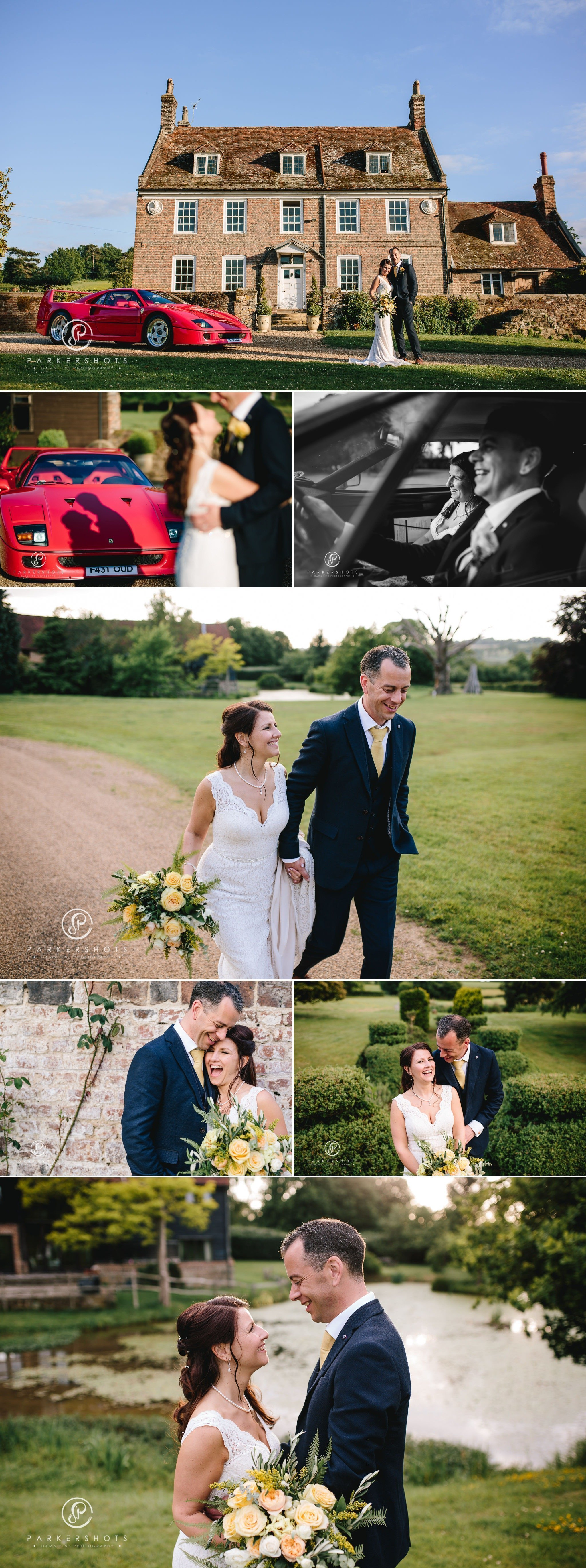 Awesome wedding photography at Chafford Park