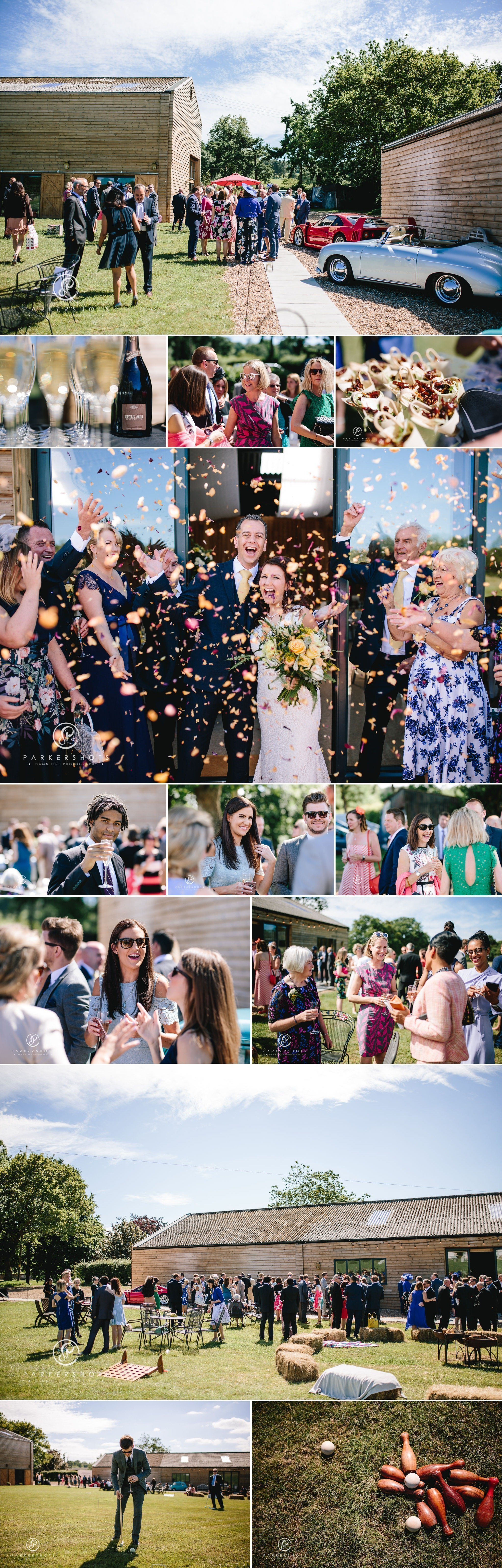 Wedding celebrations at Chafford Park