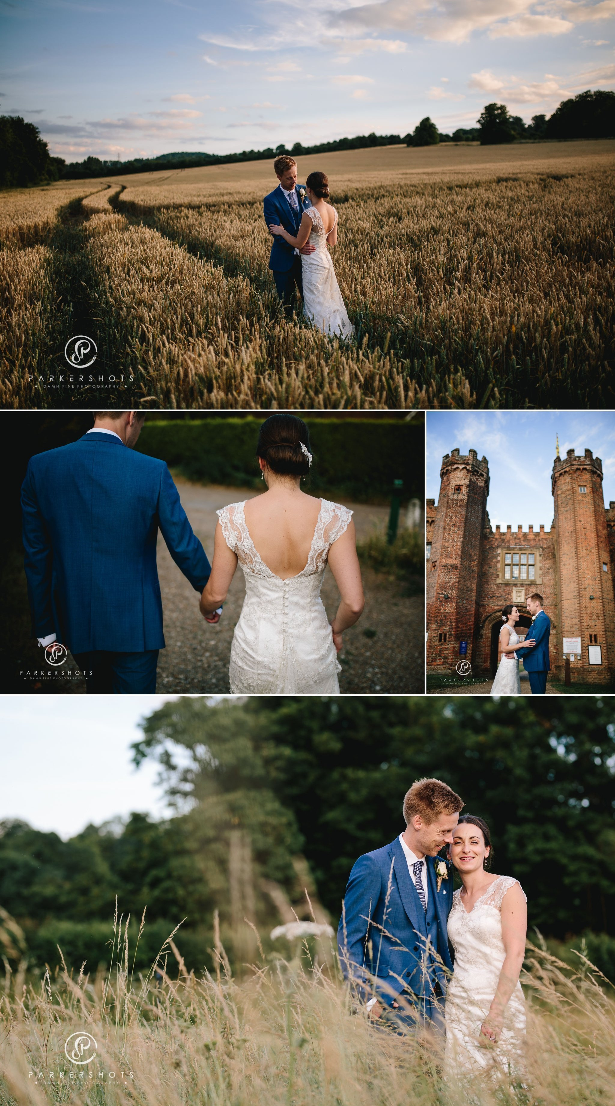 Incredible wedding photography at Lullingstone Castle