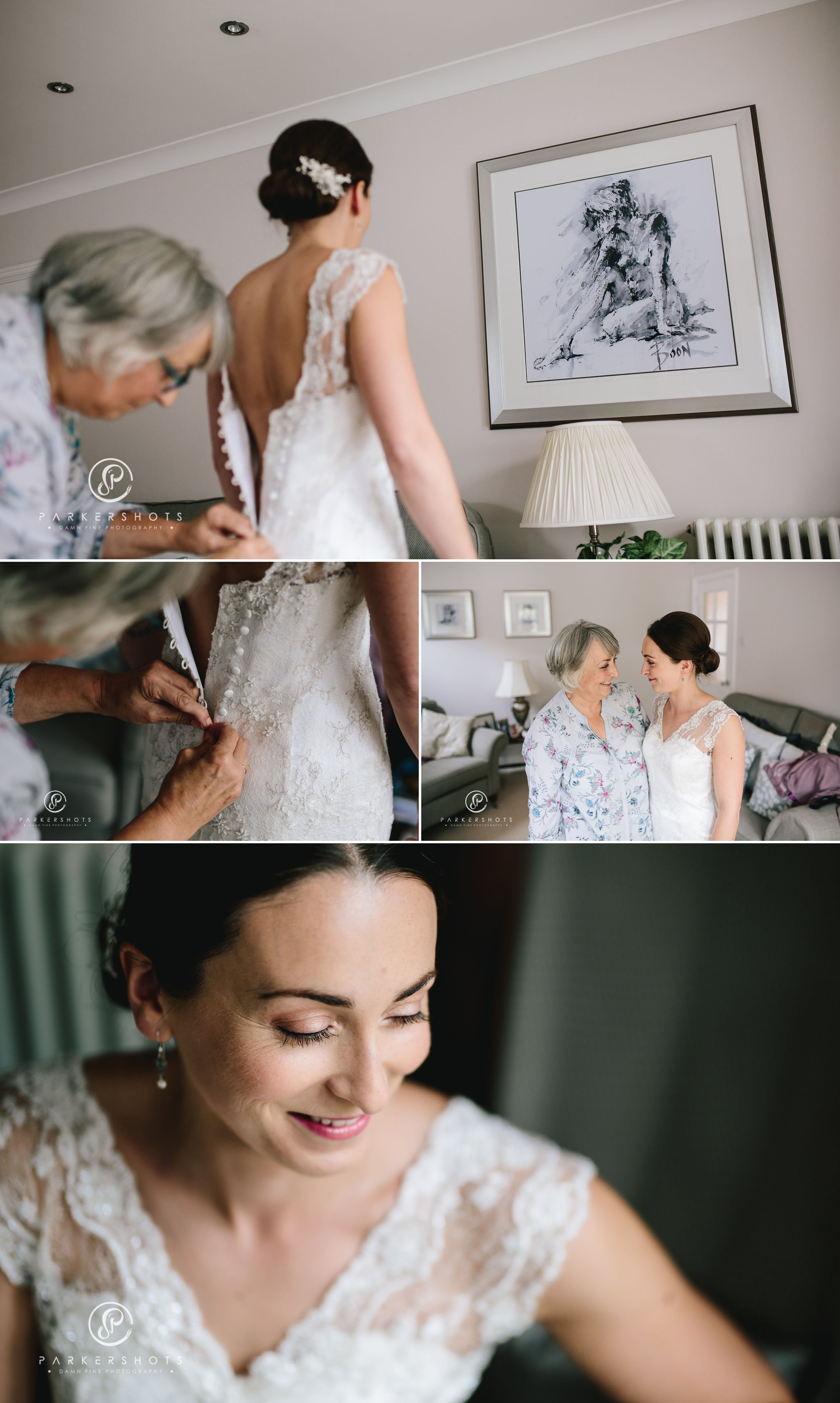 Bridal portraits before wedding at Lullingstone Castle