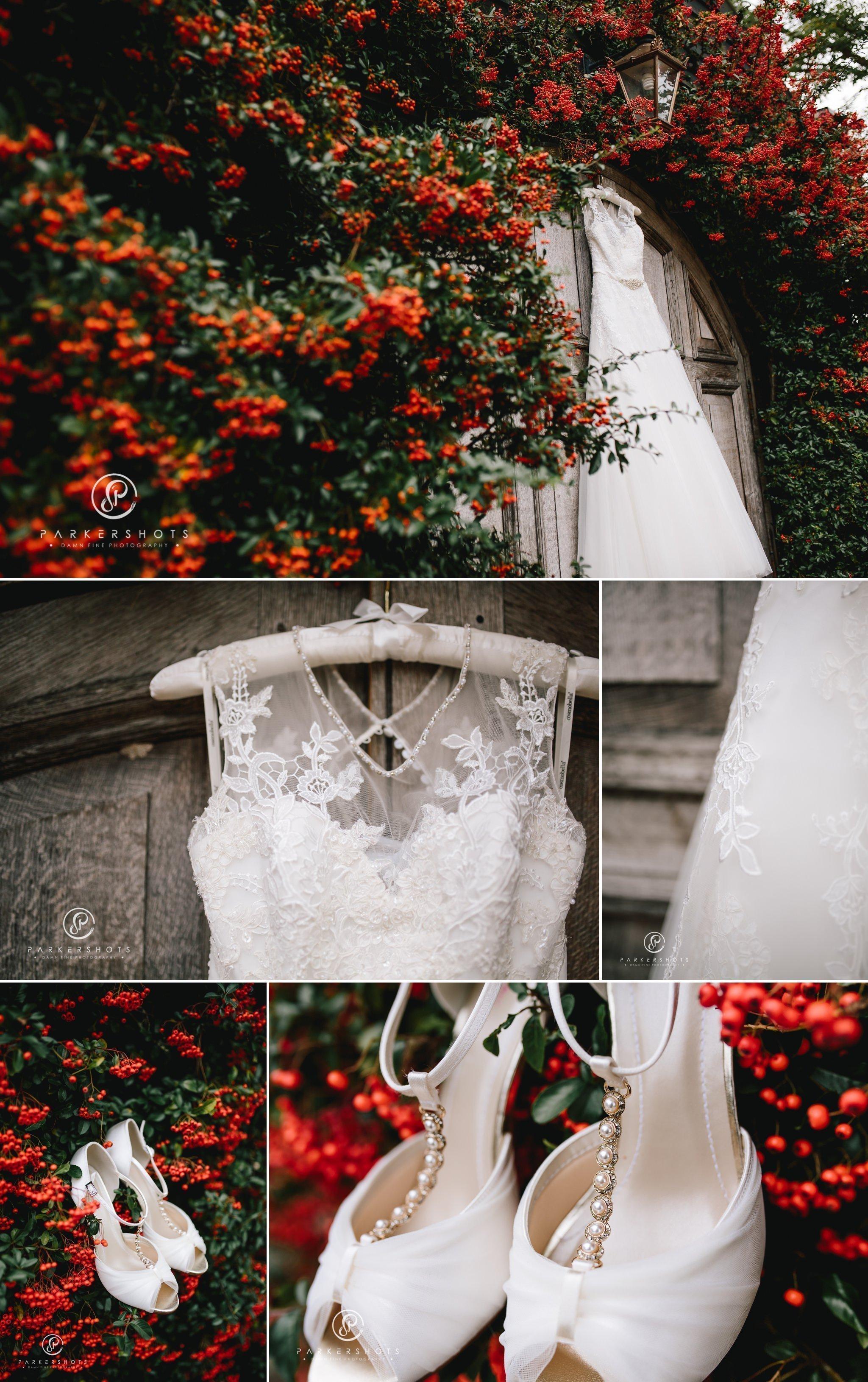 Bridal Prep wedding photography at Winters Barns