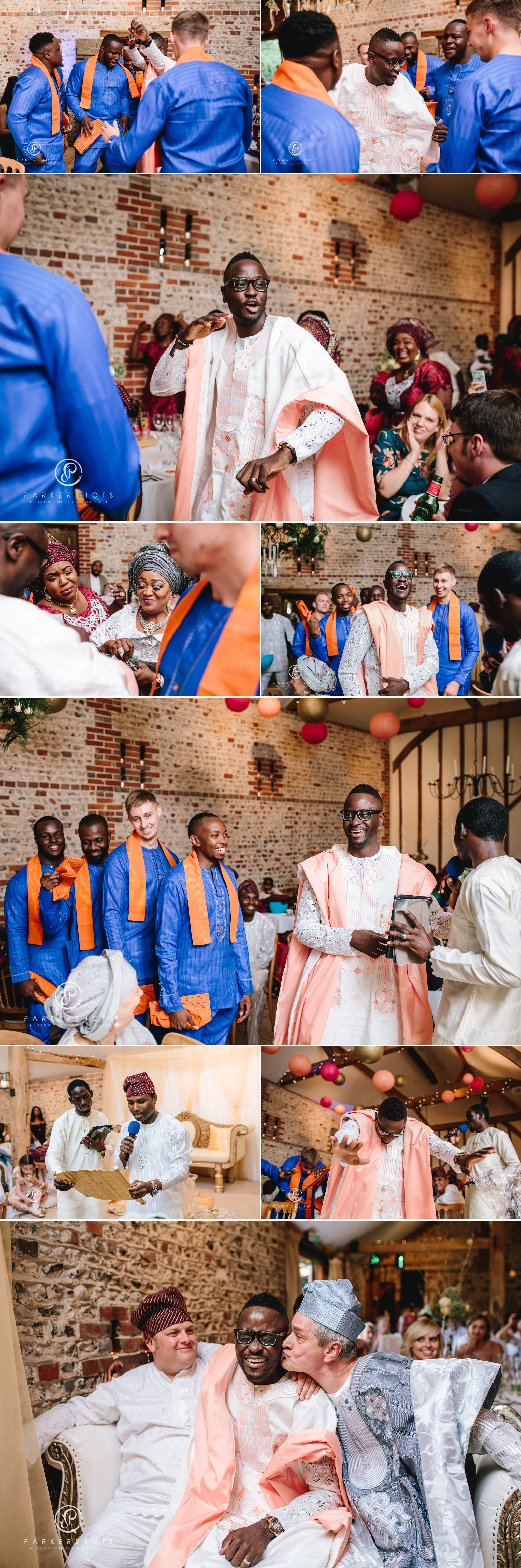 Yoruba ceremony at Upwaltham Barns