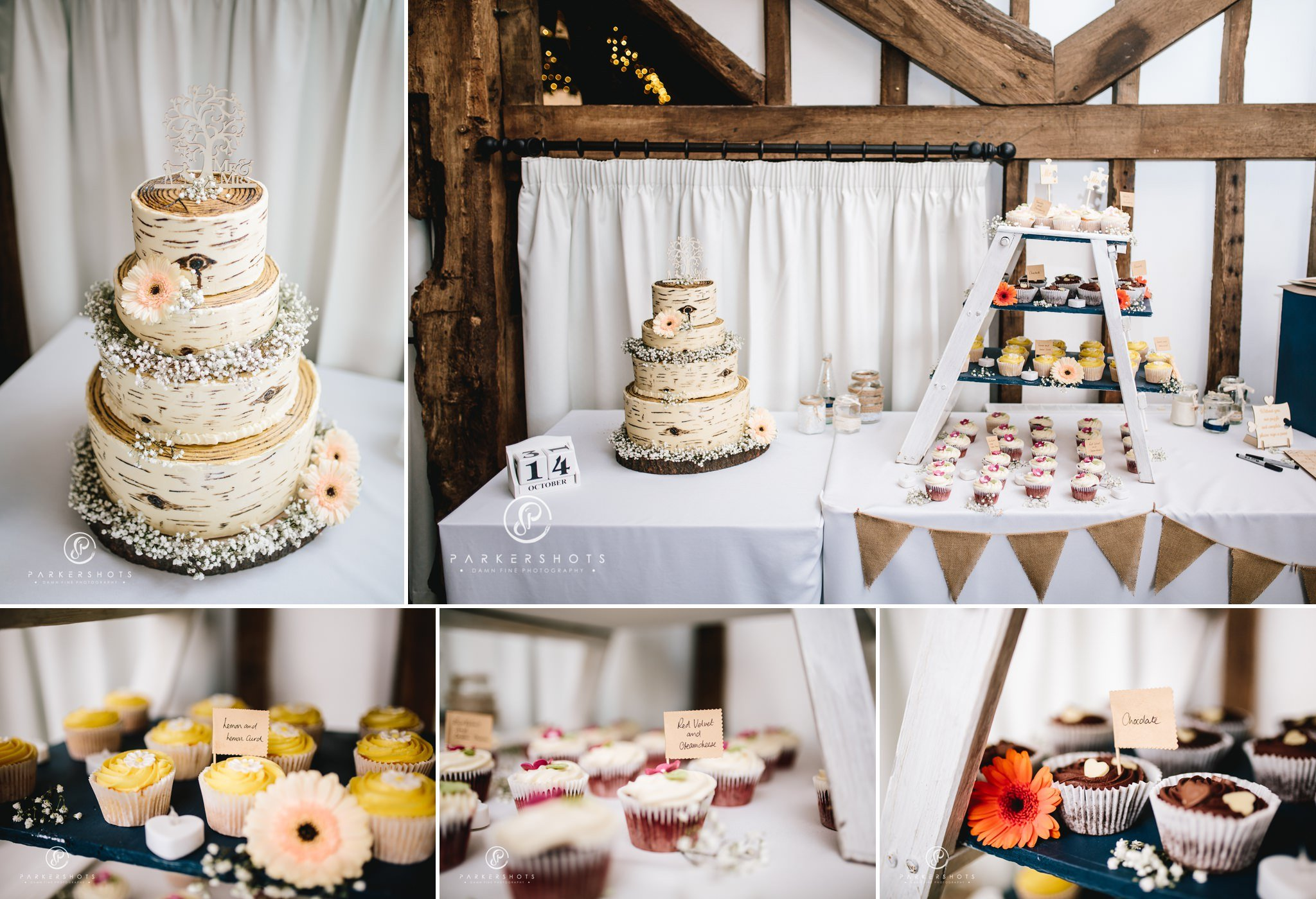 wedding cake at Blackstock Country Estate