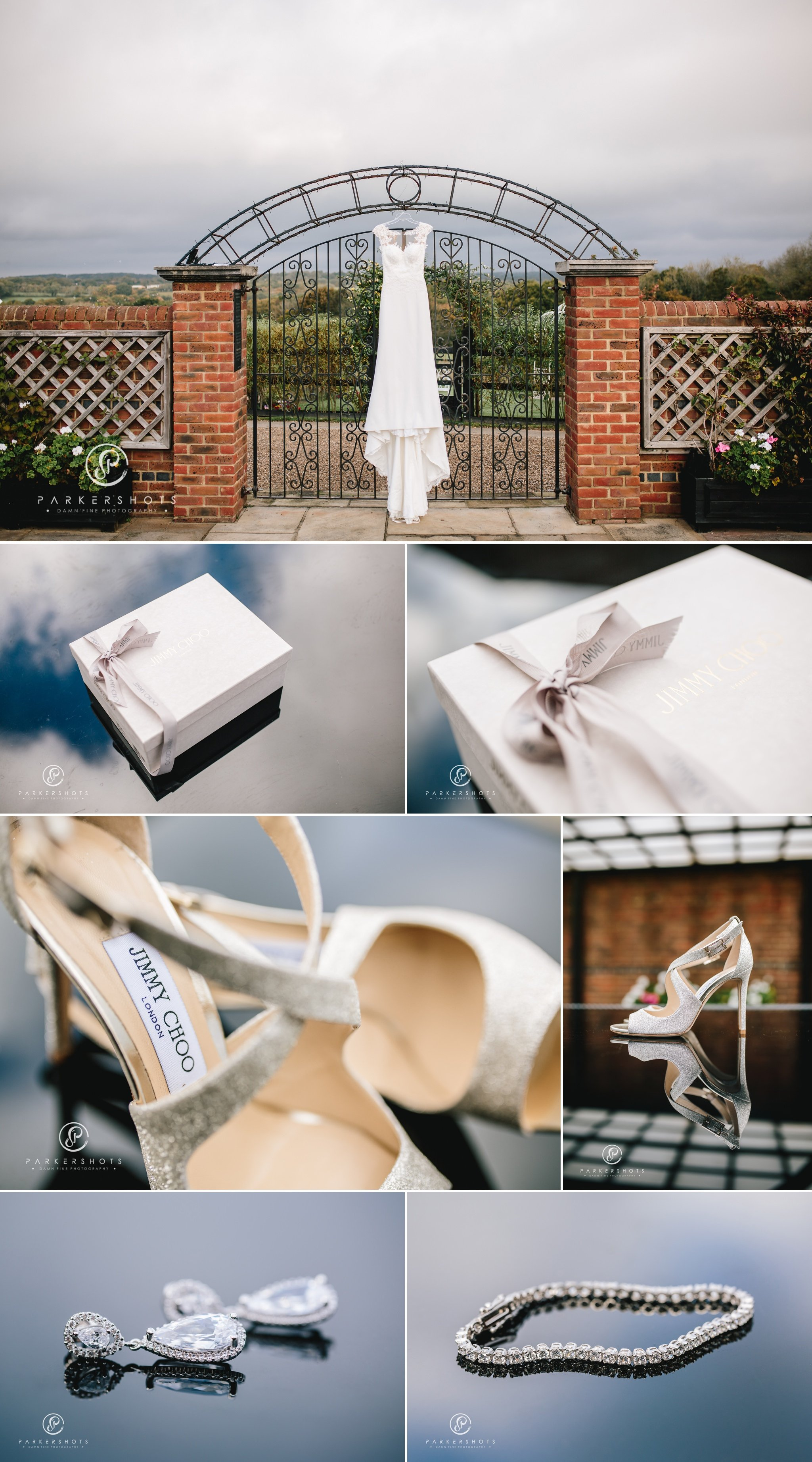 Bridal details at Blackstock Country Estate
