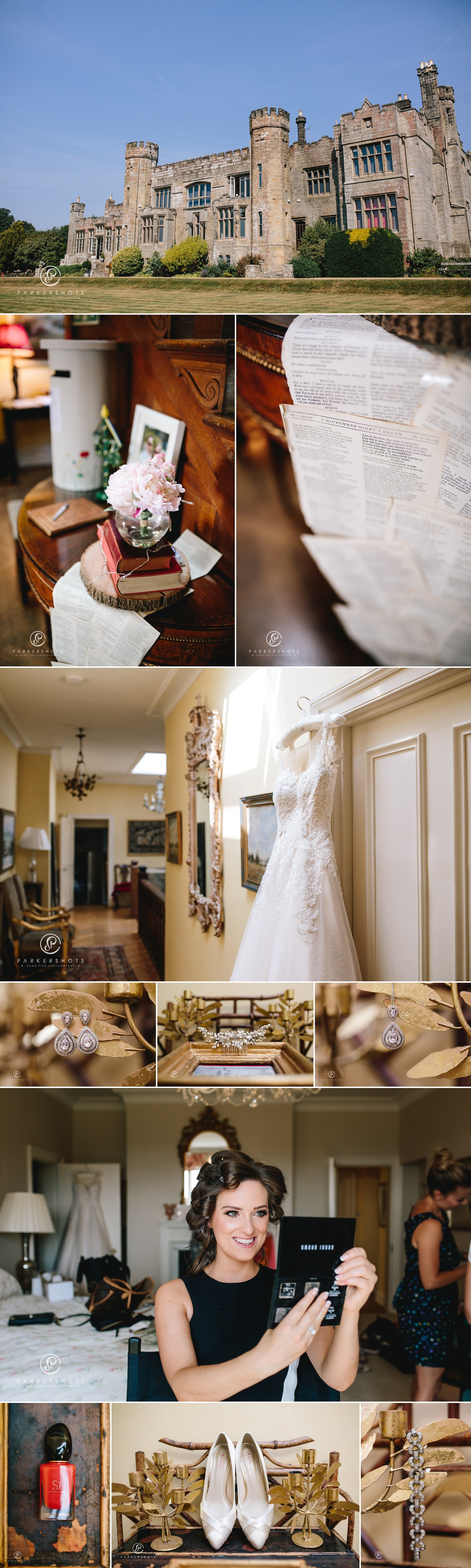 Wadhurst Castle Wedding Photographer - Bridal Details