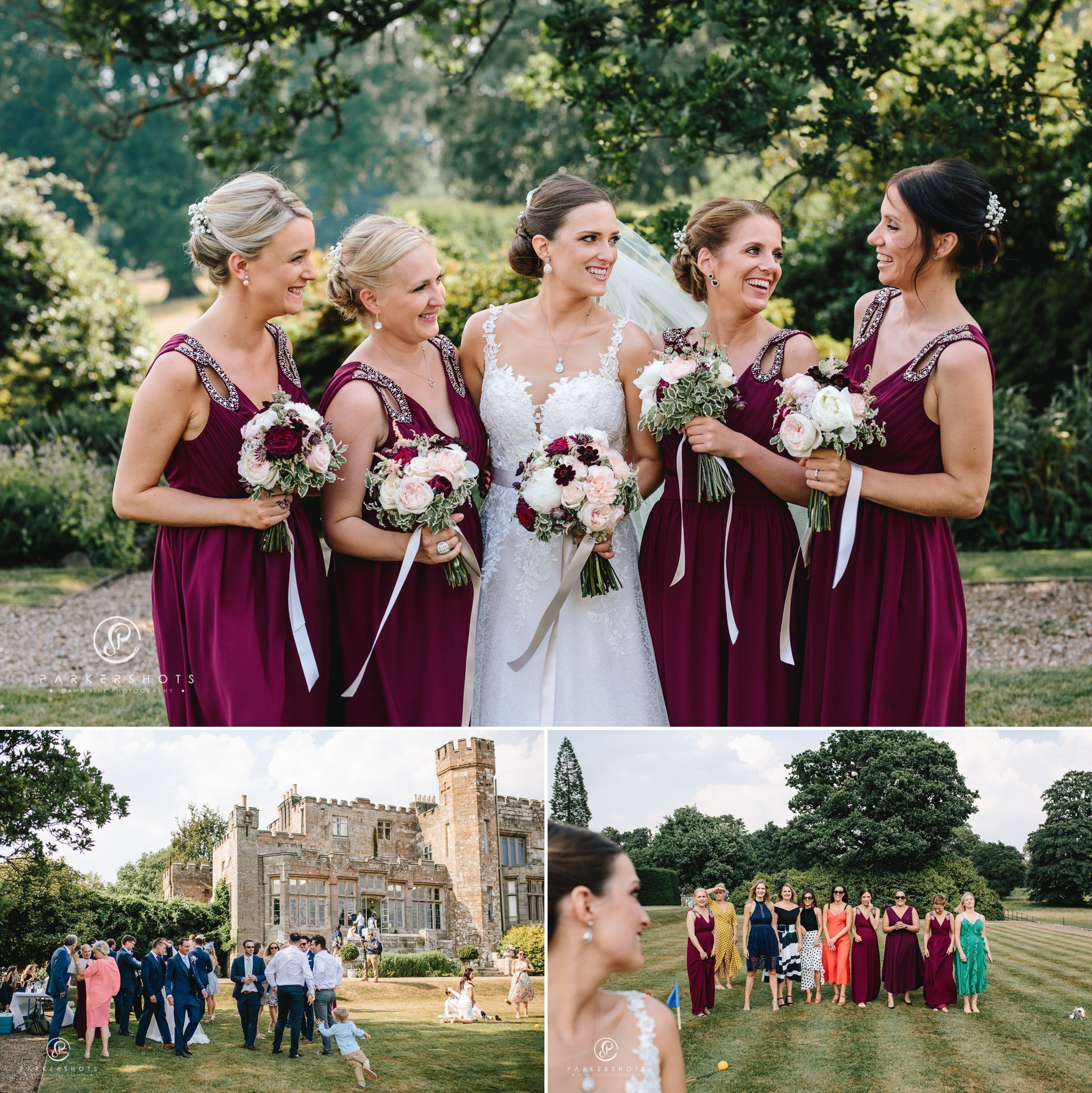 Wadhurst Castle Wedding Photographer - The bridesmaids