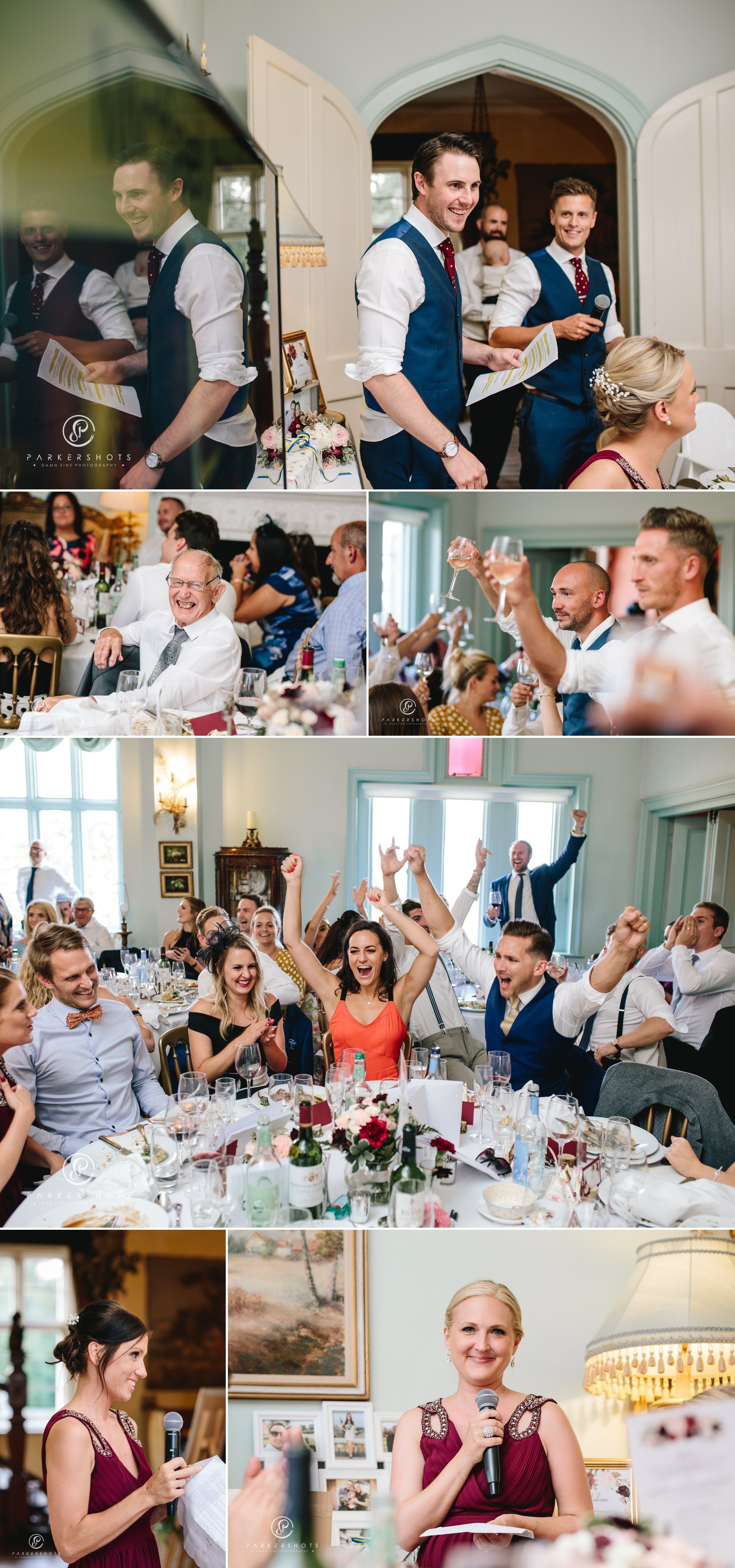 Wadhurst Castle Wedding Photographer - Wedding Speeches