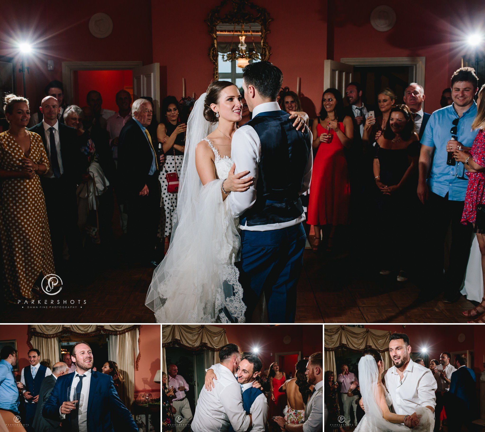 Wadhurst Castle Wedding Photographer - The first dance