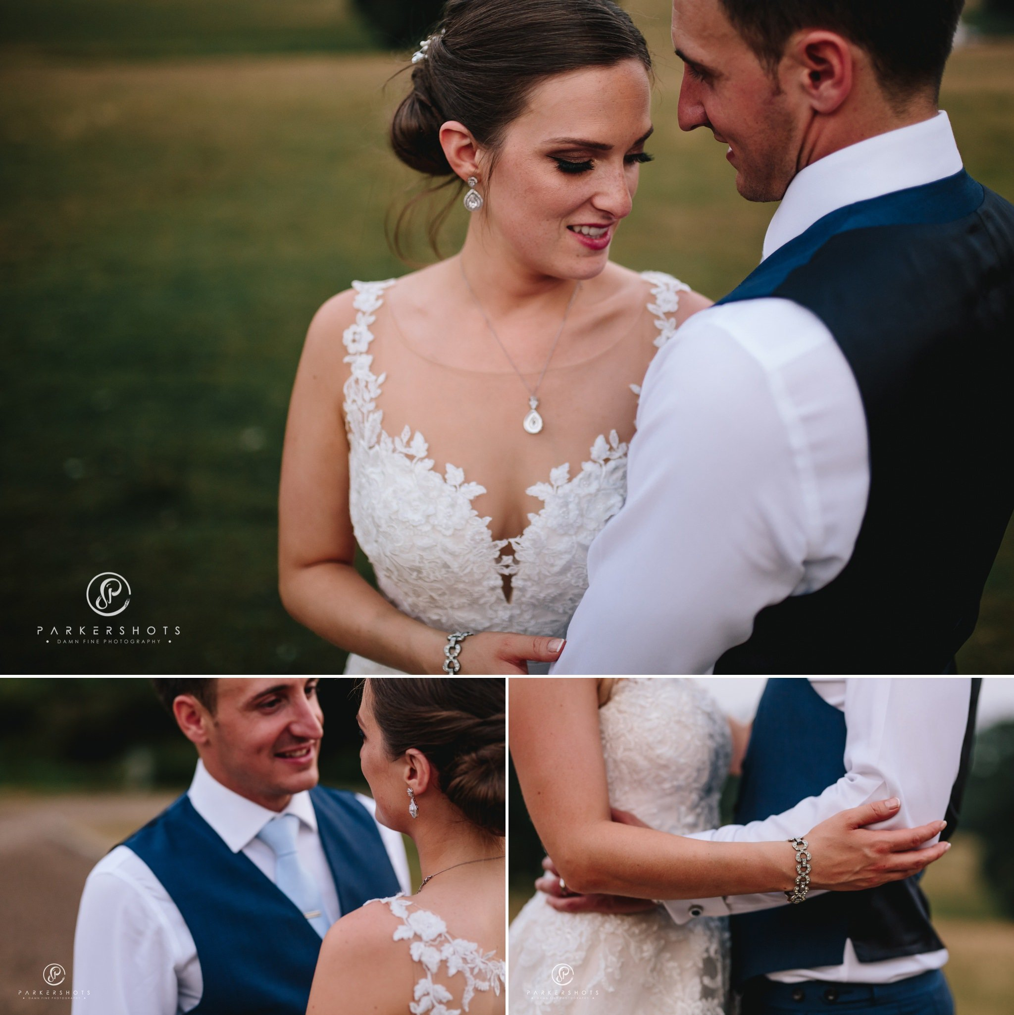 Wadhurst Castle Wedding Photographer - Evening portraits of bride and groom