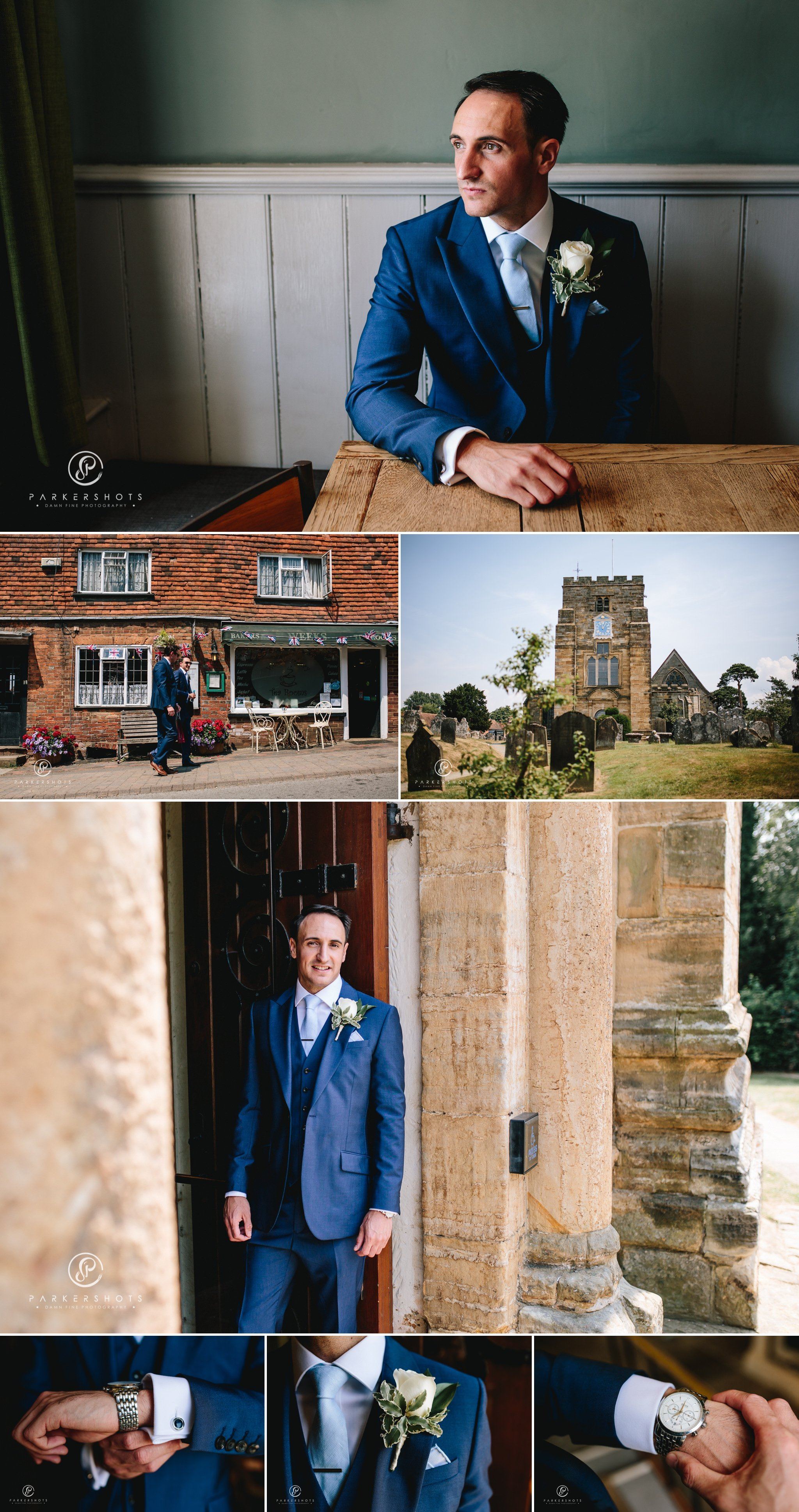 Wadhurst Castle Wedding Photographer - Portraits of Groom