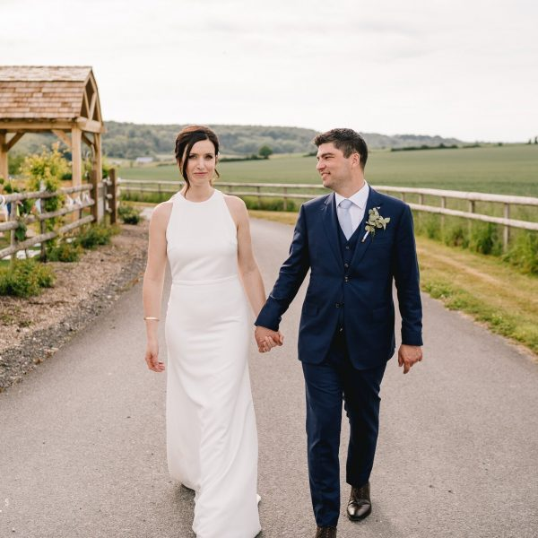 Julia & George's Wedding Photography at Long Furlong Barn