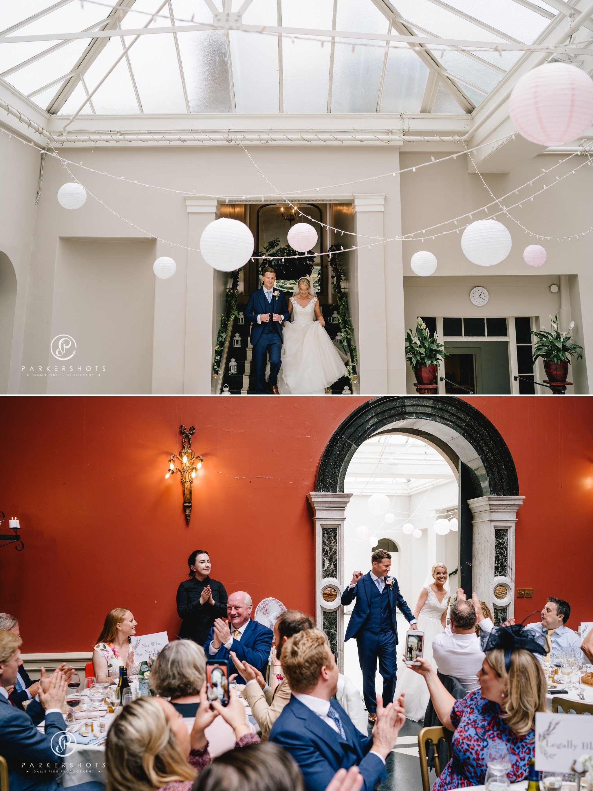 Hampton Court House Wedding Photographer - the wedding breakfast