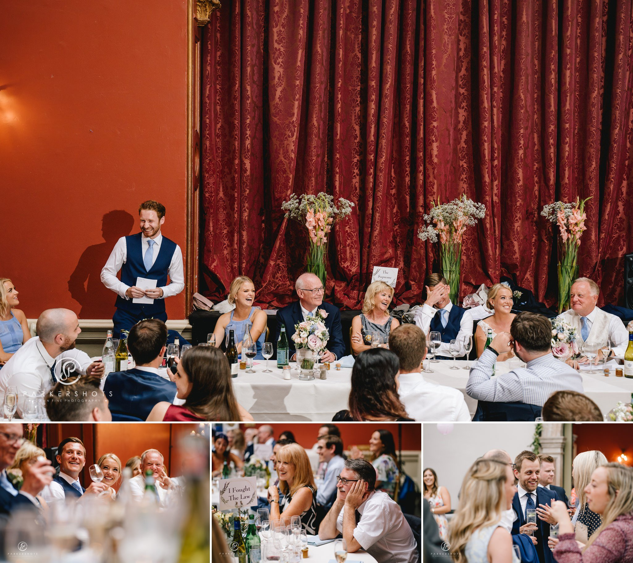Hampton Court House Wedding Photographer - the wedding speeches