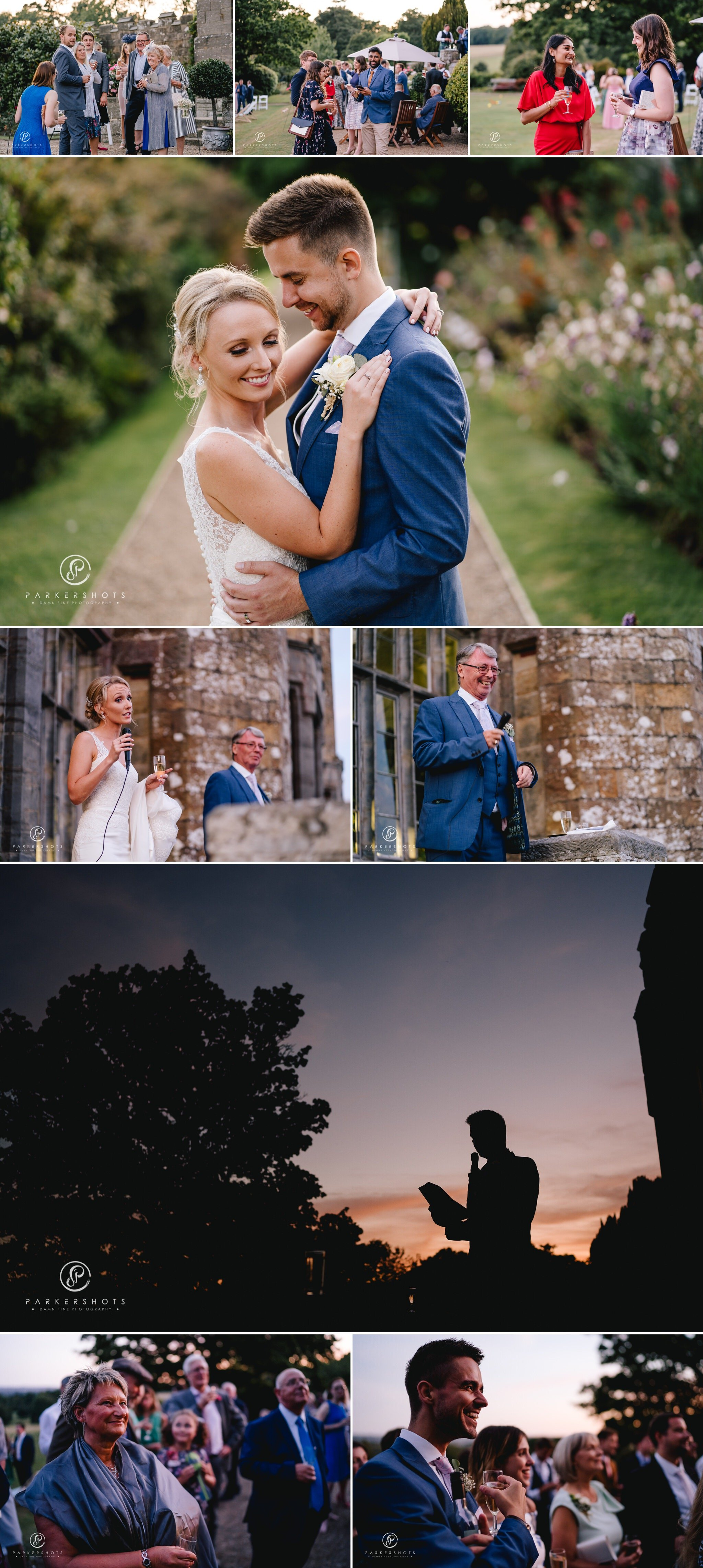 Wadhurst Castle Wedding Photographer Speeches