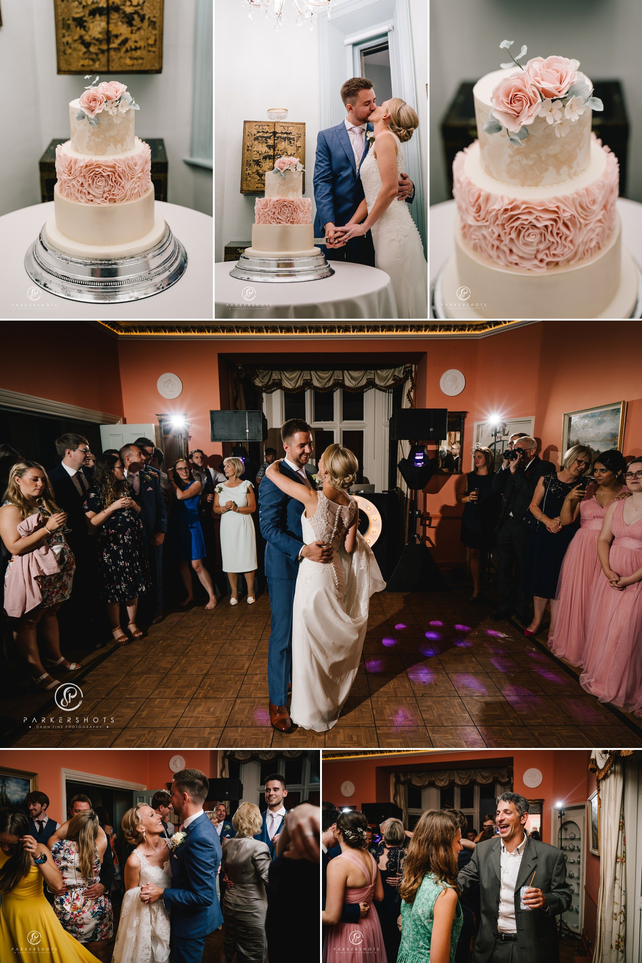 Wadhurst Castle Wedding Photographer First Dance