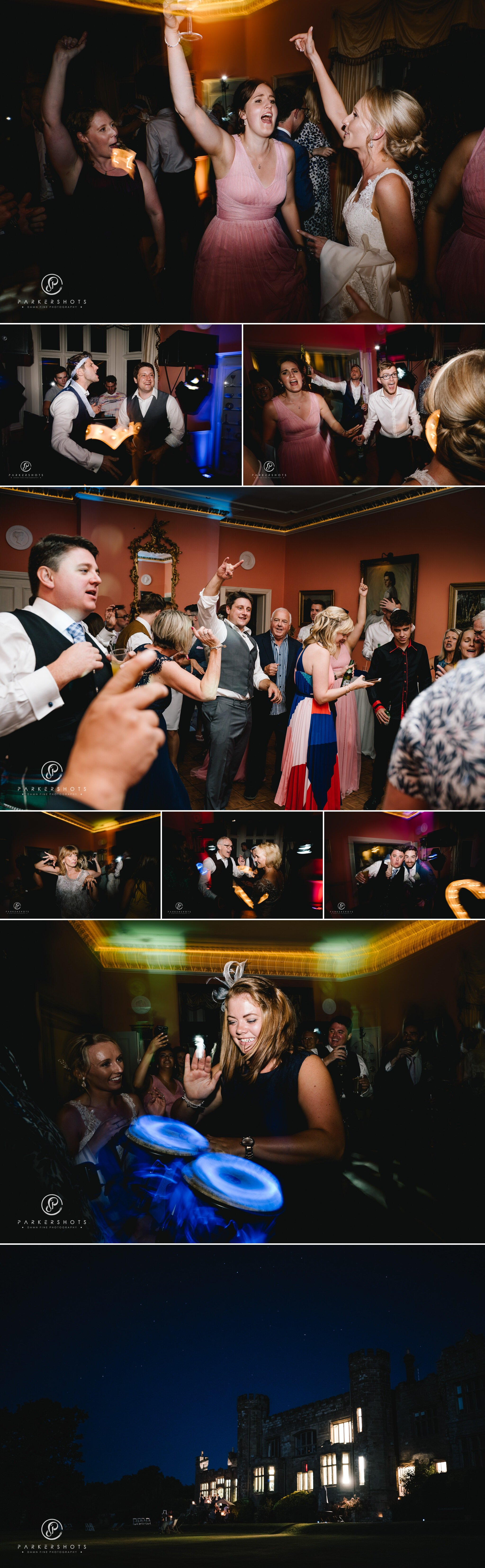 Wadhurst Castle Wedding Photographer Party
