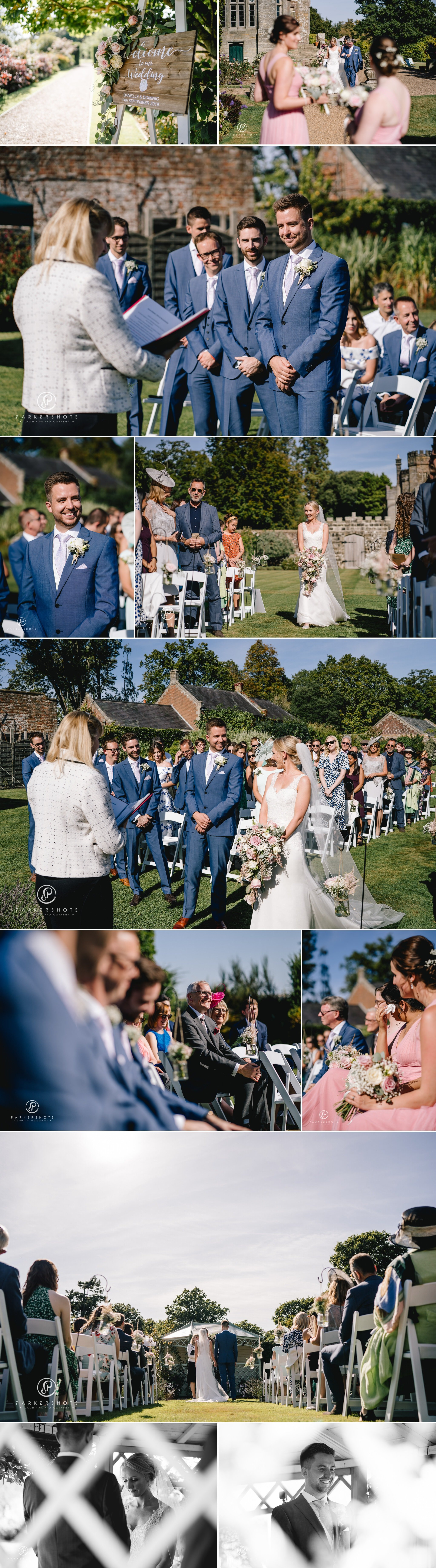 Wadhurst Castle Wedding Photographer Ceremony