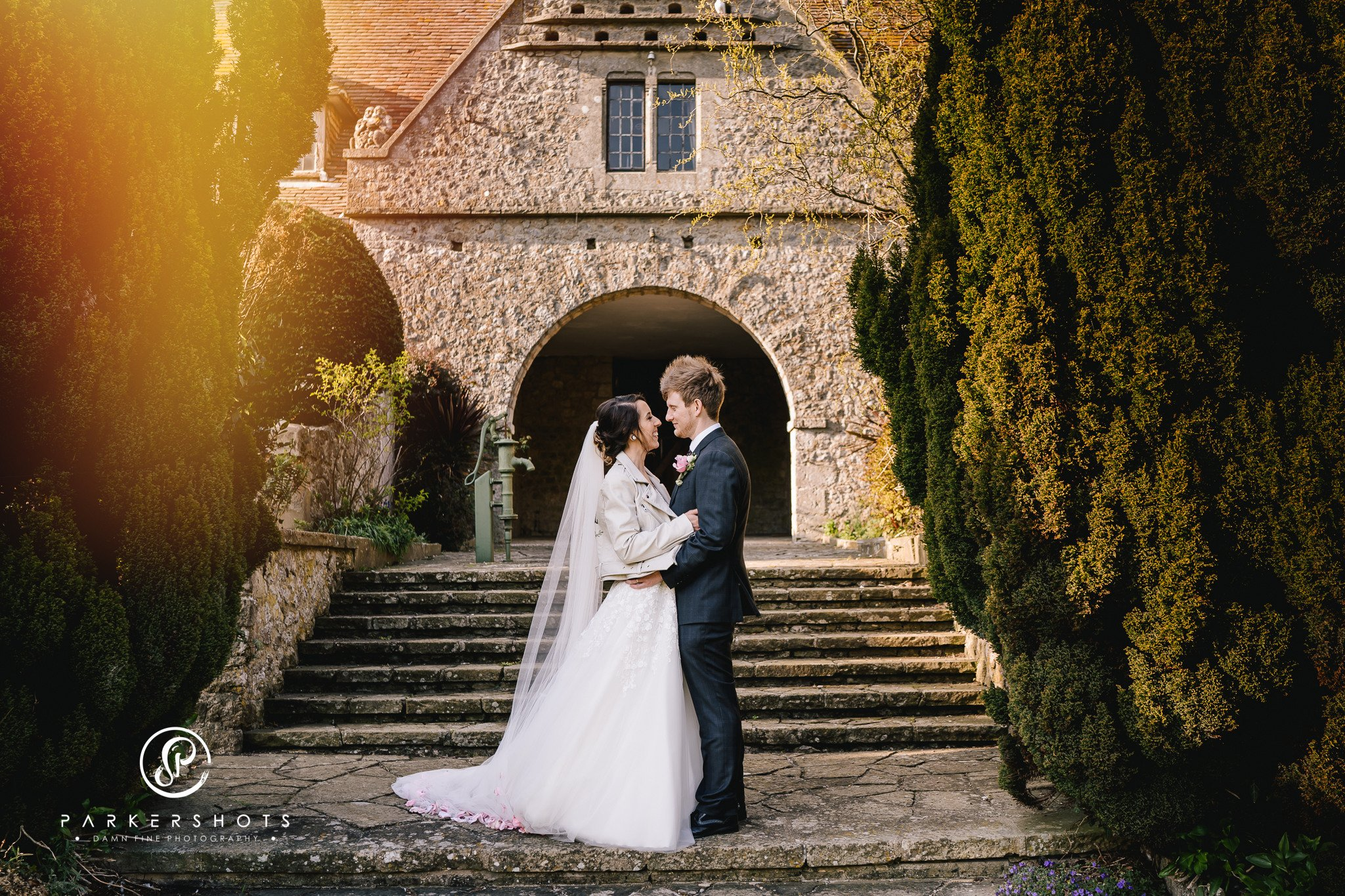 Wedding Photography of couple at Lympne Castle